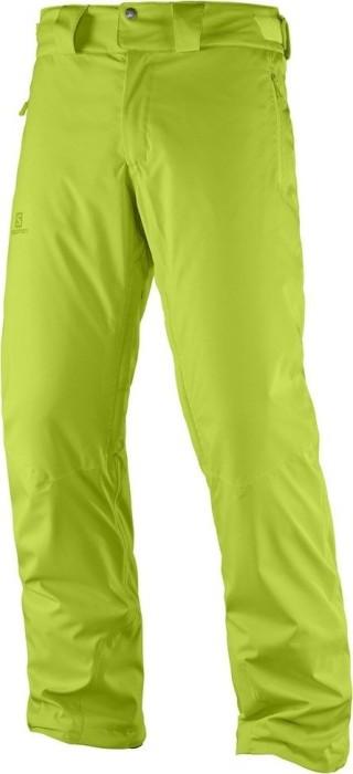 Salomon Stormrace ski pants long acid lime (men) (397375) starting ... 650ea26b7dc