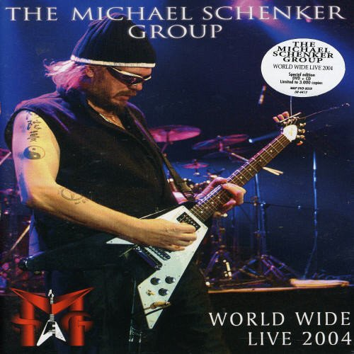 The Michael Schenker Group - World Wide Live 2004 -- via Amazon Partnerprogramm