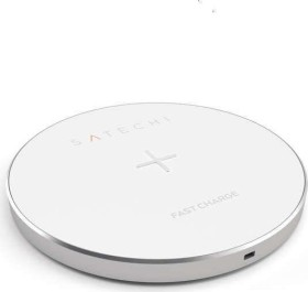 Satechi Aluminum Wireless Charger silber (ST-WCPS)