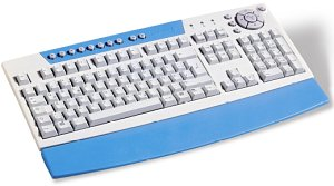 Cherry G83-13000 CyBoard, PS/2 & USB, DE