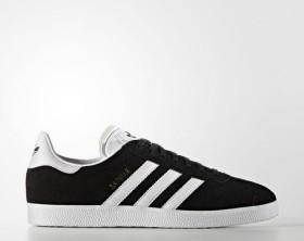 adidas Gazelle core black/white/gold met (men) (BB5476)