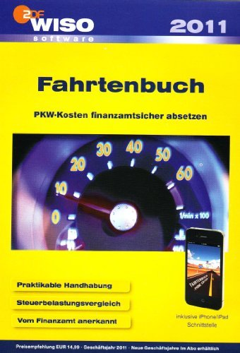 Buhl Data: WISO Fahrtenbuch 2011 (deutsch) (PC) (KW40846) -- via Amazon Partnerprogramm