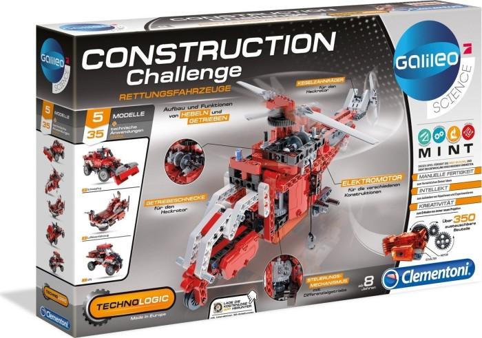 Clementoni Galileo Construction Challenge - Rettungsfahrzeuge (59052)