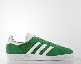 adidas Gazelle green/white/gold met (men) (BB5477)