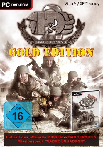 Hidden & Dangerous - Gold Edition (niemiecki) (PC) -- via Amazon Partnerprogramm