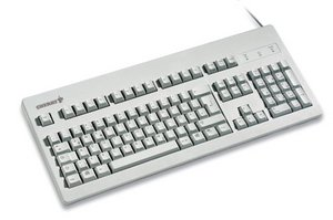 Cherry G81-3000 hellgrau, PS/2, US (G81-3000LPDUS-0)