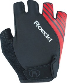 Roeckl Naturns cycling gloves black/red (3106-673-000)