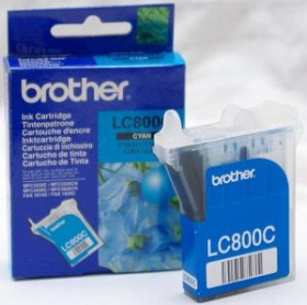 Brother Tinte LC800C cyan