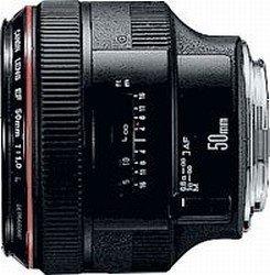 Canon EF 50mm 1.0 L USM black