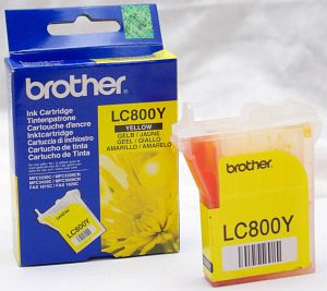 Brother LC800Y Tinte gelb -- via Amazon Partnerprogramm
