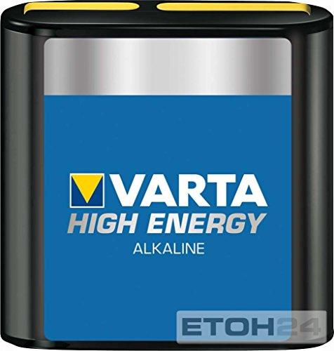 Varta High Energy 3LR12-Flat, Alkali, 4.5V (4912-121-111) -- via Amazon Partnerprogramm