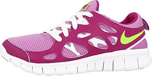 brand new 7d9b9 c438f Nike Free Run 2 pink fuchsia white (Junior) (477701-503
