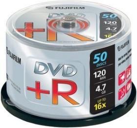 Fujifilm DVD+R 4.7GB 16x, 50er Spindel (47593)