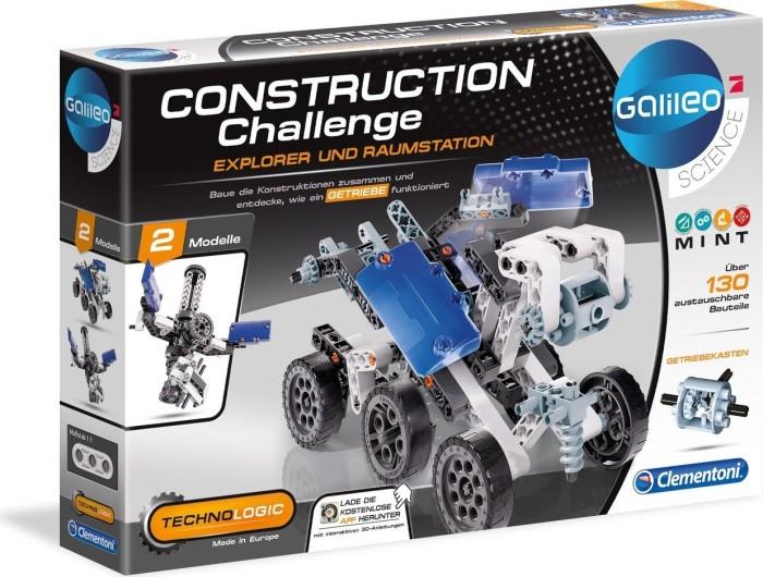 Clementoni Galileo Construction Challenge - Explorer & Raumstation (59074)