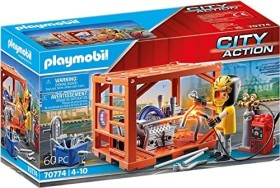 playmobil City Action - Container Manufacturer (70774)