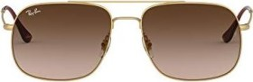 Ray-Ban RB3595 56mm gold/brown gradient (RB3595-901313)