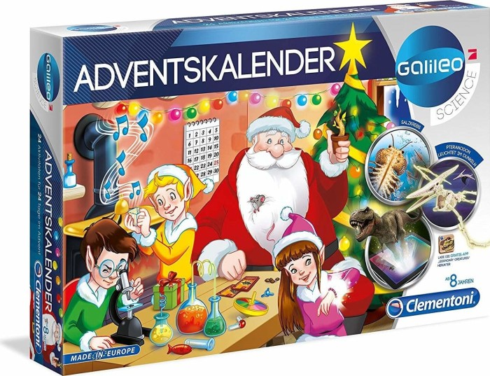 Clementoni Galileo - Advent Calendars 2018 (59080)