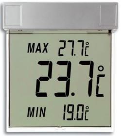 Tfa Dostmann Digitales Fensterthermometer Vision Automatischer Außentemperatur