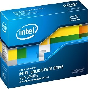 "Intel SSD 320 Series 300GB, 2.5"", 9.5mm, SATA II, retail (SSDSA2CW300G3K5/SSDSA2CW300G3B5)"