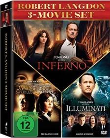 Der Da Vinci Code - Sakrileg / Illuminati / Inferno Box-Set