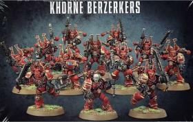 Games Workshop Warhammer 40.000 - Chaos Space Marines - Khorne Berserker (99120102005)