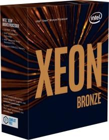 Intel Xeon Bronze 3104, 6C/6T, 1.70GHz, boxed ohne Kühler (BX806733104)