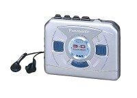 Panasonic RQ-E11 srebrny