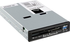 Ultron UCR3 75in1 Cardreader schwarz retail Multi-Slot-Cardreader, USB 3.0 19-Pin Stecksockel [Stecker] (106745)