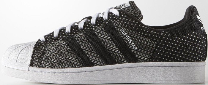 brand new 3c0c1 15d17 adidas Superstar Weave core black white (S77853)