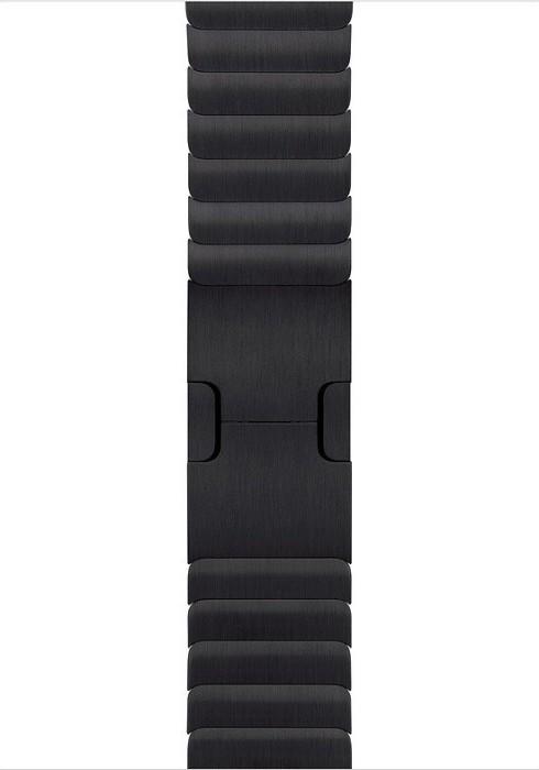 Apple Gliederarmband für Apple Watch 42mm space schwarz (MUHM2ZM/A)
