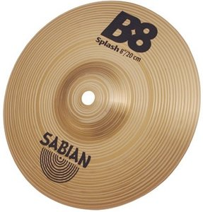 "Sabian B8 Extra-Thin Splash 8"" (SA40805)"