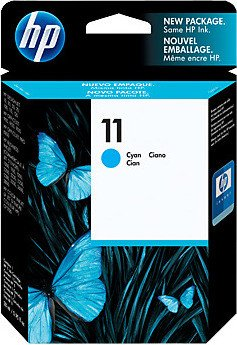 HP ink Nr 11 cyan (C4836AE)