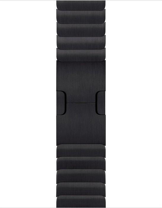 Apple Gliederarmband für Apple Watch 38mm space schwarz (MUHK2ZM/A)