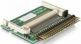 DeLOCK Einbau-Modul 1x CF, Single-Slot-Cardreader, IDE 44-Pin [Stecker] (91655)
