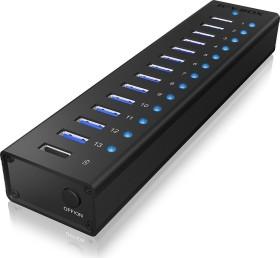 RaidSonic Icy Box IB-AC6113 USB-Hub, 13x USB-A 3.0, USB-B 3.0 [Buchse] (70420)