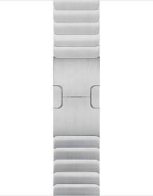 Apple Gliederarmband für Apple Watch 38mm silber (MUHJ2ZM/A)