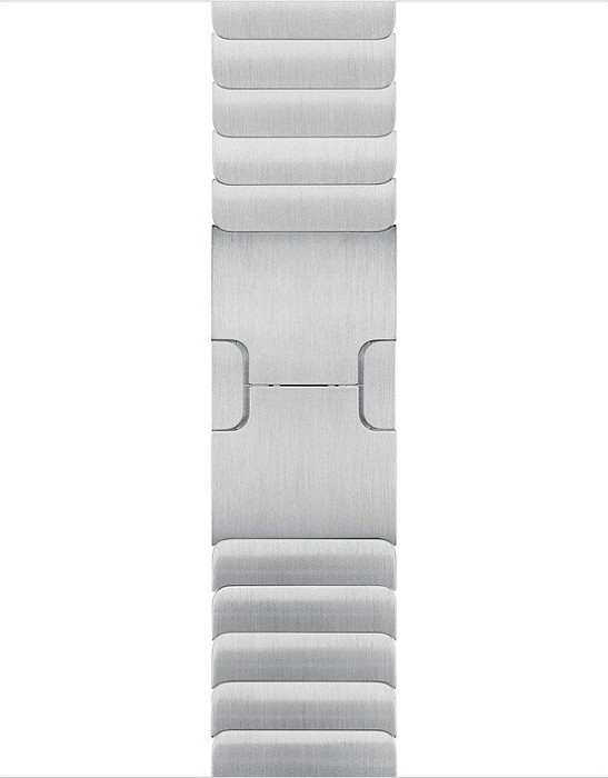 Apple Gliederarmband für Apple Watch 38mm silber (MUHJ2ZM/A)