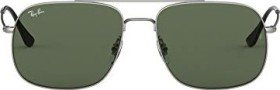 Ray-Ban RB3595 56mm silver/green classic (RB3595-911671)