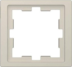 Merten System Design D-Life Rahmen, 1fach, sahara (MEG4010-6533)