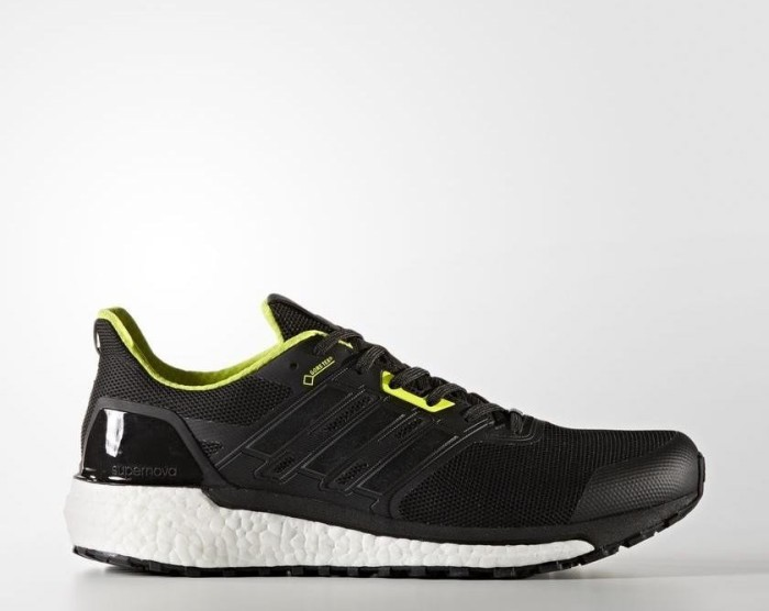 sports shoes cd53f 9822d adidas Supernova Gore-Tex core blacksemi solar yellow (Herren) (BB3669