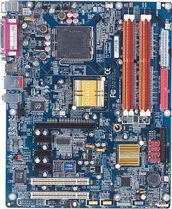 Gigabyte GA-8I915P-D Pro, i915P (dual PC2-4200U DDR2)