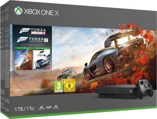 Microsoft Xbox One X - 1TB Forza Horizon 4 Bundle schwarz