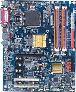 Gigabyte GA-8I915P Pro, i915P (dual PC-3200 DDR)