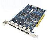 Adaptec AUA-3121 DuoConnect, 3x FireWire/4x USB 2.0 bulk (1923600)