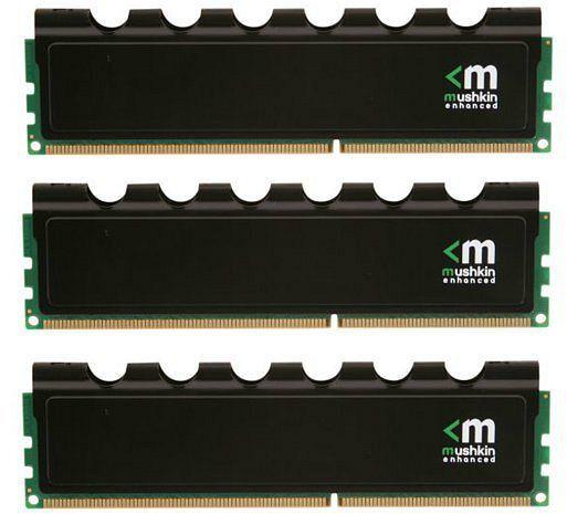 Mushkin Enhanced Blackline Frostbyte DIMM kit 12GB, DDR3-1600, CL9-9-9-24 (998776)