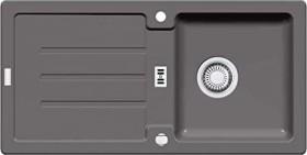 Franke Strata STG 614 steingrau mit Ablauffernbedienung (114.0259.826)