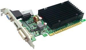 EVGA e-GeForce 8400 GS passive, 512MB DDR3, VGA, DVI, HDMI (512-P3-1301)