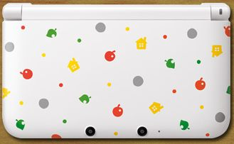 Nintendo 3DS XL Animal Crossing: New Leaf - Limited Edition Bundle white