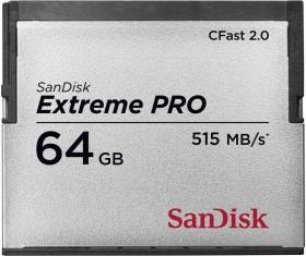 SanDisk Extreme PRO R515/W240 CFast 2.0 CompactFlash Card 64GB (SDCFSP-064G-G46B)