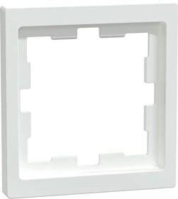 Merten System Design D-Life Rahmen, 1fach, lotosweiß (MEG4010-6535)